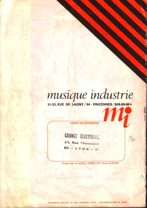 Catalogue MI 16