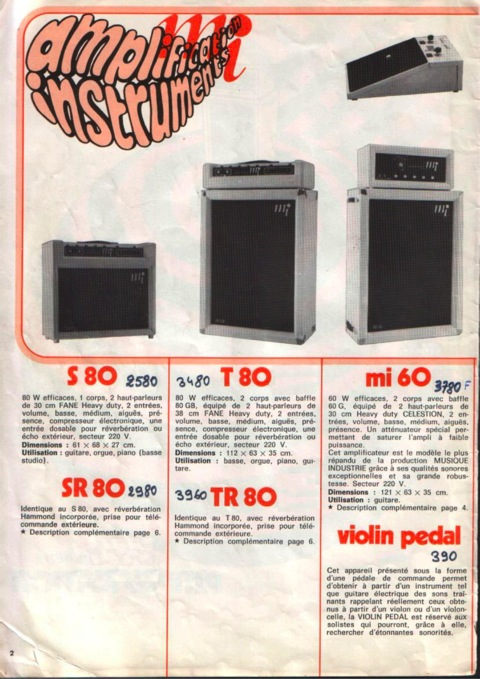 Catalogue MI 2