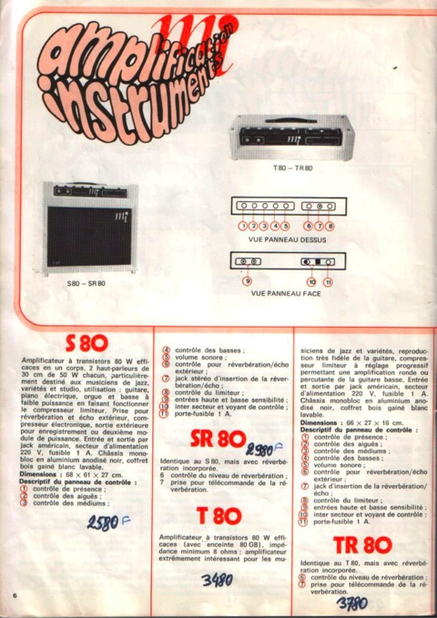 catalogue mi 6